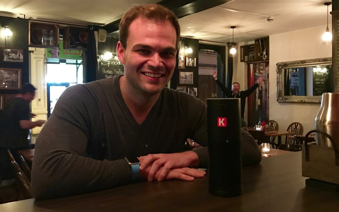 London #IoTDinner – Amazon Echo