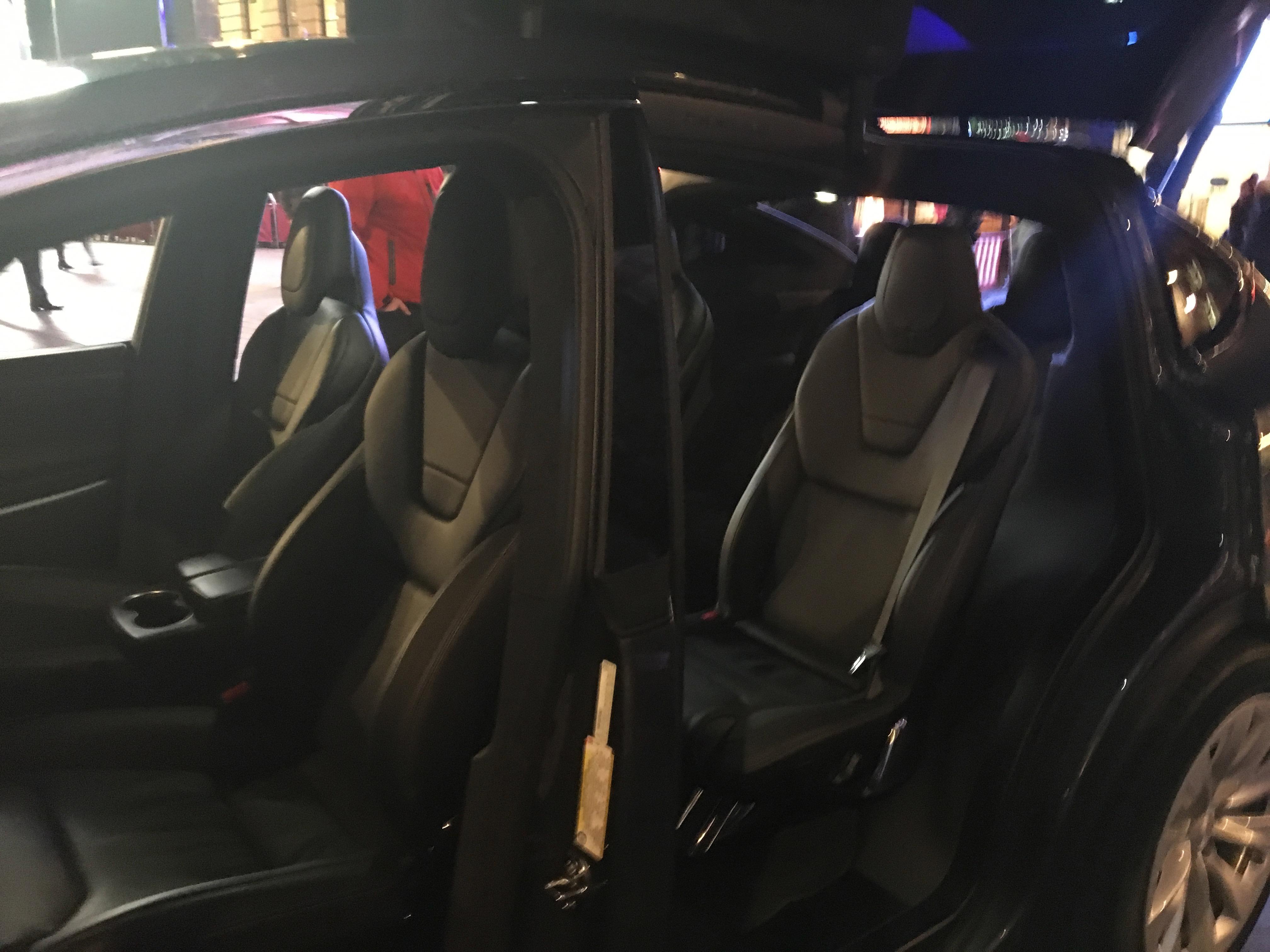 Tesla Model X 7 Seats